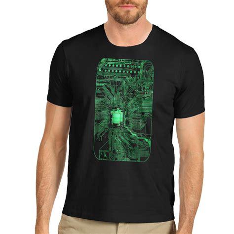 T Shirt Electronic 04 electronic cool design circuit board print t shirt ebay