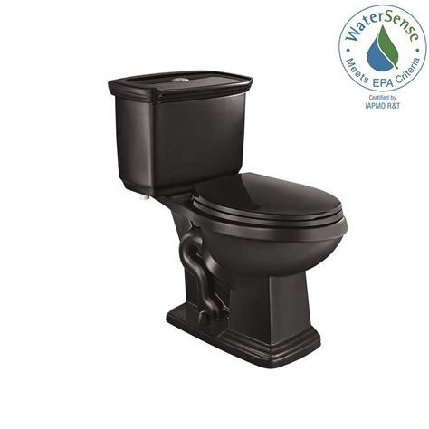 black toilet glacier bay 2 piece 1 0 gpf 1 28 gpf high efficiency dual