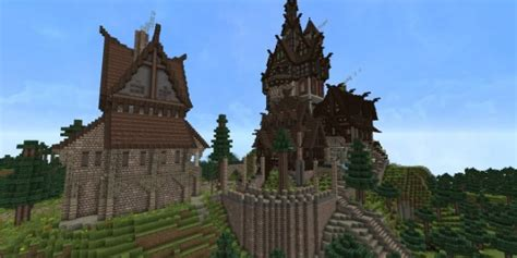 medieval house skyrim inspiration timelapse download minecraft project house minecraft building inc