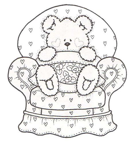teddy bear coloring pages for adults 114 best images about teddy bears coloring art print pages