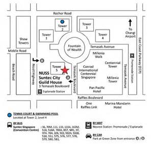 Suntec City Mall Floor Plan by Located In The Heart Of The City Suntec City Guild House