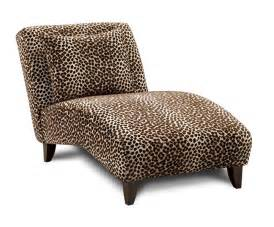 leopard print chaise by best chair for the home