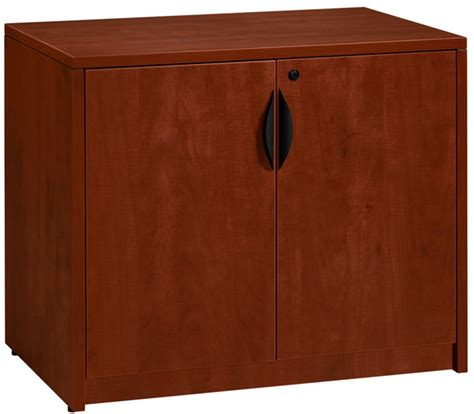 Locking Wood Storage Cabinet legacy 35 w x 24 d locking wooden storage cabinet with adjustable shelf cherry lsc2935ch by