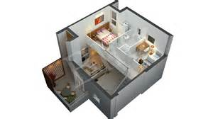 Floor Plan In 3d Architecture 3d Floor Plans Home Design Services