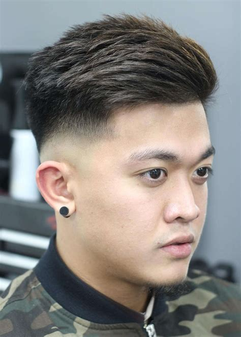 picture   drop fade haircut features  longer top
