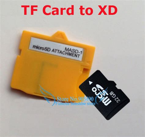 Microsd Tf Card Card To Xd Card Adapter Masd 1 masd 1 for olympus microsd attachment tf flash card to xd