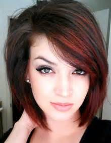 color hairstyle for bob hairstyles for thin hair chestnut color