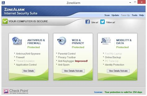 best free security suite 2015 parental disappointment zonealarm