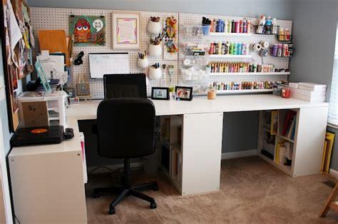 diy craft studio neat diy studio with peg board and ikea furniture yay
