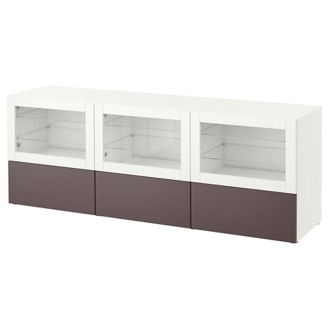 benches clear best 197 tv bench with doors and drawers white valviken dark