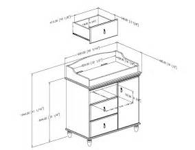 Baby Changing Table Dimensions South Shore Moonlight Changing Table 3760332