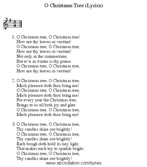 abc o christmas tree lyrics trillian mit edu jc
