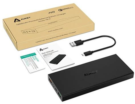 Powerbank Aukey 16 000 Mah bons plans les powerbanks aukey de 16 000 et 20 000 mah