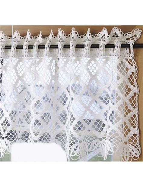 free patterns for curtains crochet for the home crochet decor patterns diamond