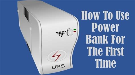 how to use a power bank how to use power bank for the time power bank solution