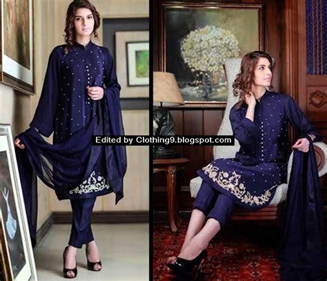 New Playpad By Agha Store by Agha Noor Luxury Kurtas Collection 2016 2017 Agha Noor