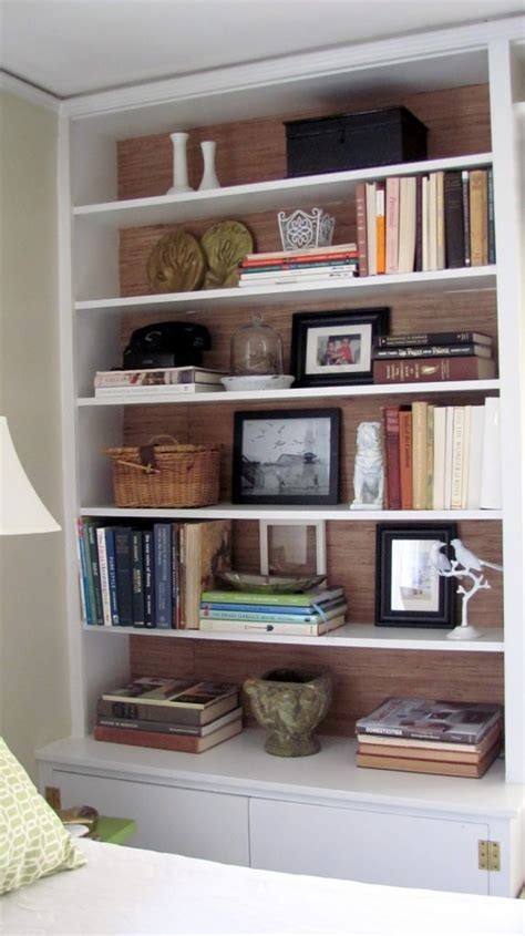 styling your bookshelves to create a dazzling display