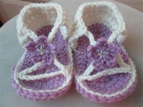imagenes de sandalias egipcias sandalias tejidas en gancho para ni 241 as crochet youtube