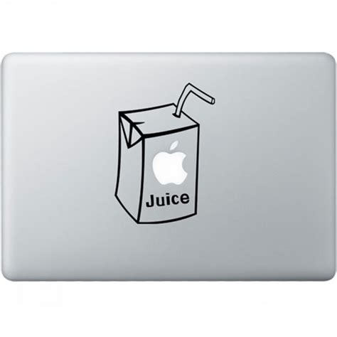 Sticker Apple apple juice macbook decal kongdecals macbook decals