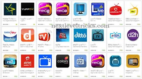 best app android top 10 best live tv apps for android smartphone in 2017