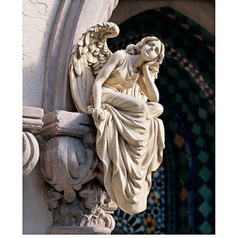 angel sculptures large resting grace angel statue design toscano statue