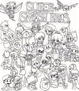 smash bros coloring pages smash brothers coloring pages coloring home