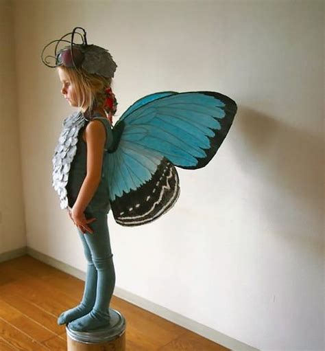 Handmade Butterfly Costume - 17 best images about cardboard insects on