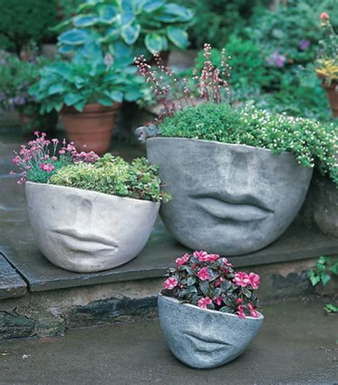 face planters face sculpture planters are still trendy and darling