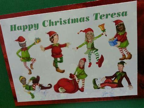 printable christmas cards boss christmas card for our boss cards pinterest