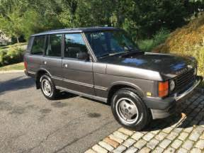 toyota land rover 1990 1990 land rover range rover county grey v8 less