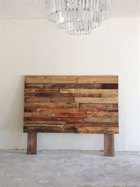 Headboards Made From Reclaimed Wood by Reclaimed Recycled Pallet Wood Headboard Board By