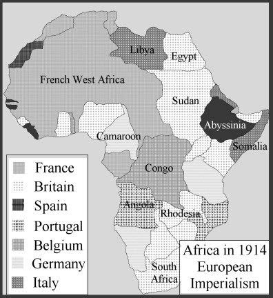 africa map during imperialism this map displays the colonization of africa between the