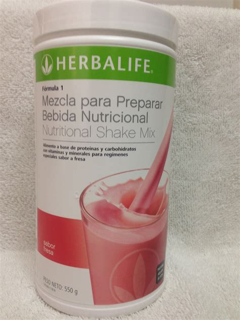 herbalife ebay herbalife nutrition shake mix formula 1 strawberry flavor
