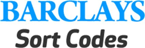 Sort Code Address Finder Barclays Sort Codes The No1 Barclays Sort Code Finder