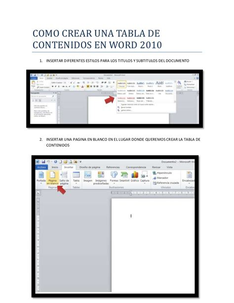 como hacer una monografia en word 2010 youtube tabla de contenidos word como crear una tabla de