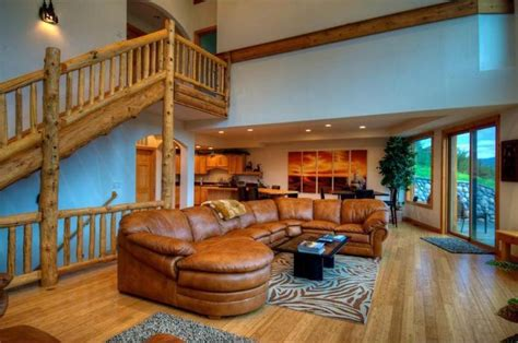 luxury log home interiors log home interiors mountain cabin great interior