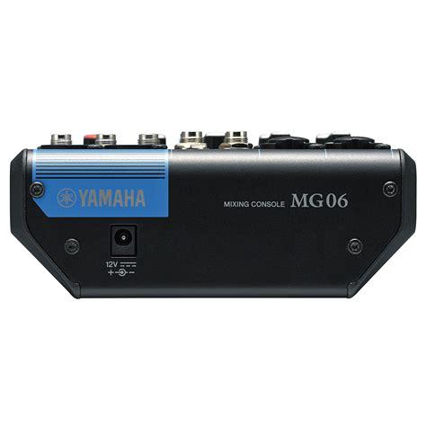 Mixer Yamaha Mg yamaha mg 06 171 mixer