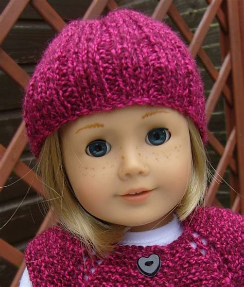 free knitting patterns for dolls hats pin by elaine bisbee on 18 quot doll clothes knitted