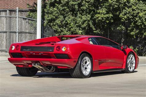 Lamborghini Diablo 2001 Price 2001 Lamborghini Diablo 6 0 Vt