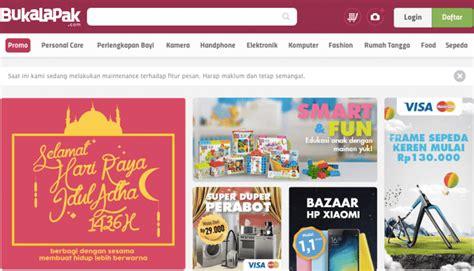 bukalapak ecommerce 26 popular online shopping sites in indonesia vondroid