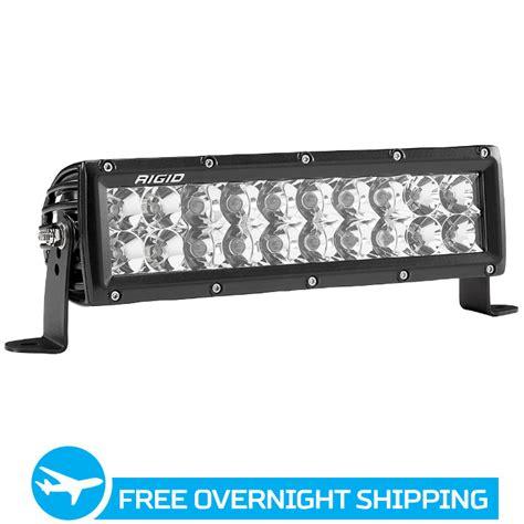 rigid industries led light bar review rigid industries 10 inch e series led light bar white