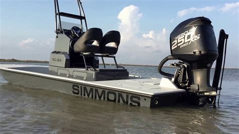 simmons boats es custom boats simmons rc 24 youtube