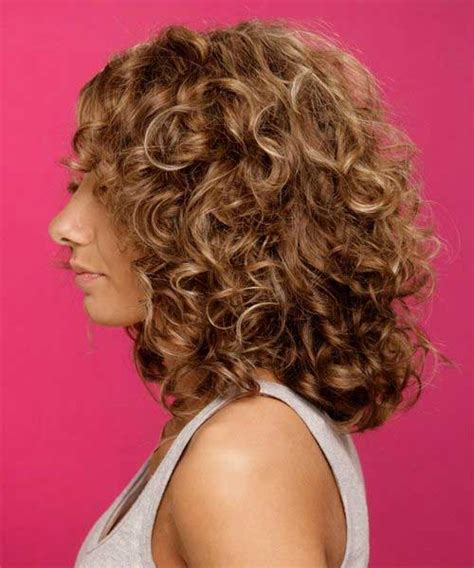 shoulder length layered natural curly haircuts with front and back pictures short medium curly hairstyles short hairstyles 2017