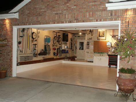 garage interior ideas home design garage design ideas for your home 2 car