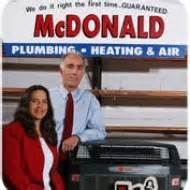 Mcdonalds Plumbing by Mcdonald Plumbing Heating Air Conditioning 22 Photos 67 Reviews Plumbers 3618