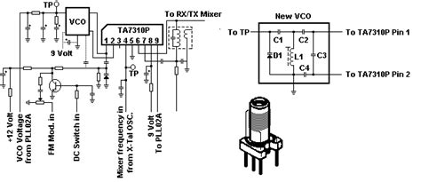 integrated circuits nz the defpom cybernet vco component info page