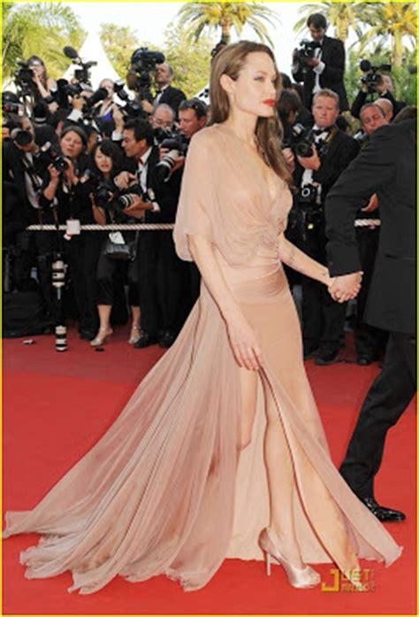 Cannes Festival Brad Pitt And Get Shady by Moda Benim Diyebilene Pudra Rengi Elbiseler Pink