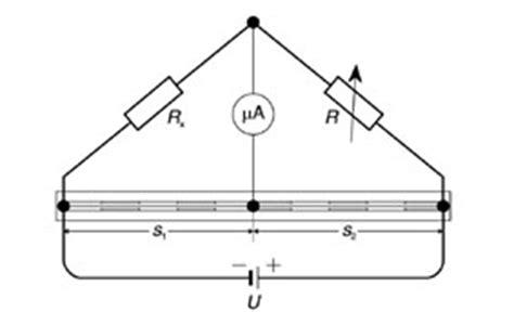 wheatstone bridge with resistor in middle katalog ld didactic