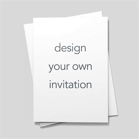 Design Your Own Invitations by Design Your Own Invitation Invitations Announcements