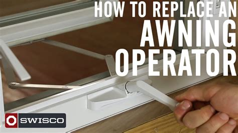 awning window operators how to replace an awning operator 1080p youtube